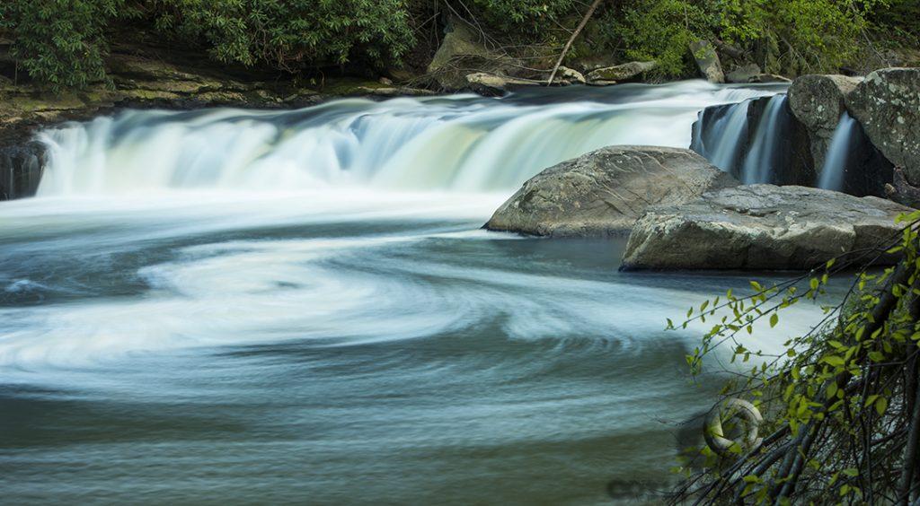 """The Yang - Swallow Falls"" by John J Coyle Jr."